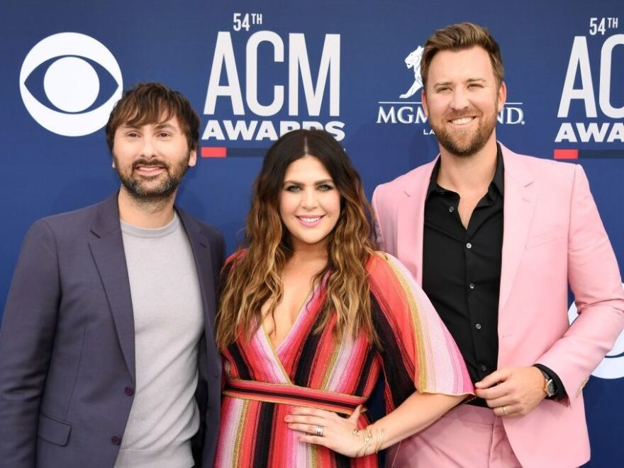"The trio now known as Lady A, arriving at the Country Music Awards in April 2019. They announced the switch on social media, saying that calls for racial justice over the past several weeks have revealed their ""blindspots."""