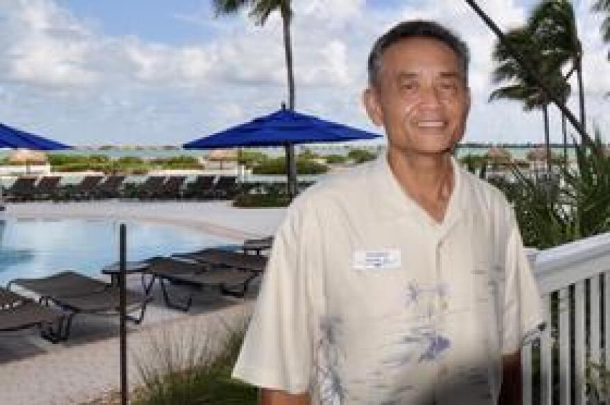 Hawks Cay Resort General Manager Sheldon Suga oversaw the resort's $50 million renovation after Hurricane Irma. It is one of the largest hotels in the Keys and a major employer in the Middle Keys.