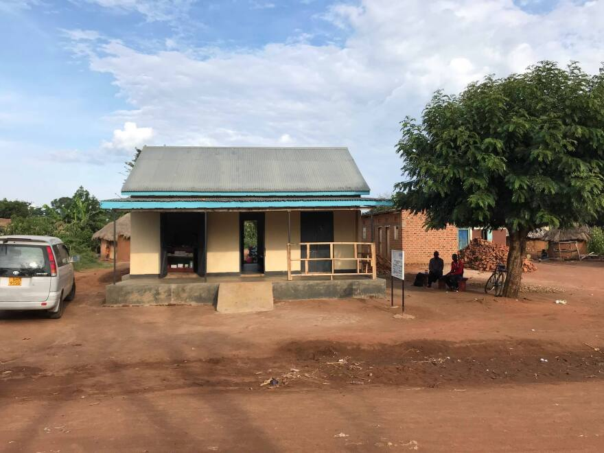 The small clinic in rural Uganda will provide residents with basic services such as vaccinations and family planning.