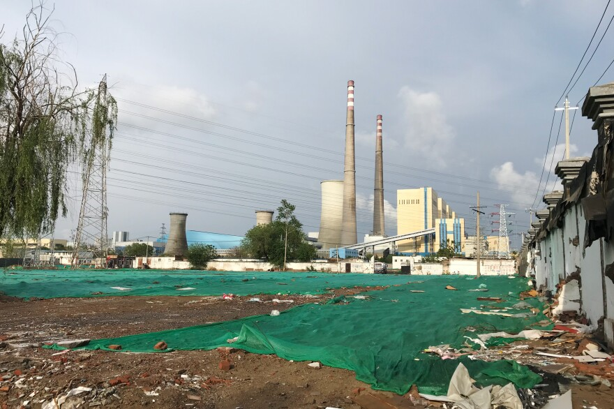 The Huaneng Beijing Terminal Power Plant in Chaoyang district of the Chinese capital stopped burning coal in 2017. It went online in 1999 and, according to state-run media, had a capacity of 845,000 kilowatts.