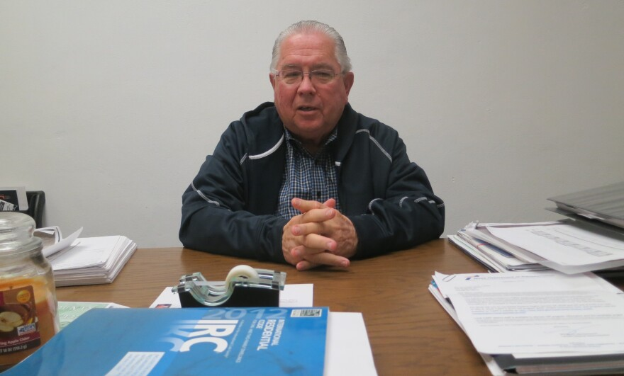 Larry Dovalina is city administrator of Cotulla, Texas.