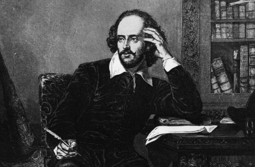 William Shakespeare, circa 1600.