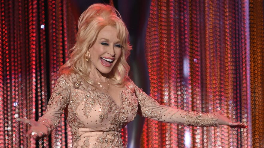 Dolly Parton during the 23rd Annual Screen Actors Guild Awards show at The Shrine Auditorium on January 29, 2017.