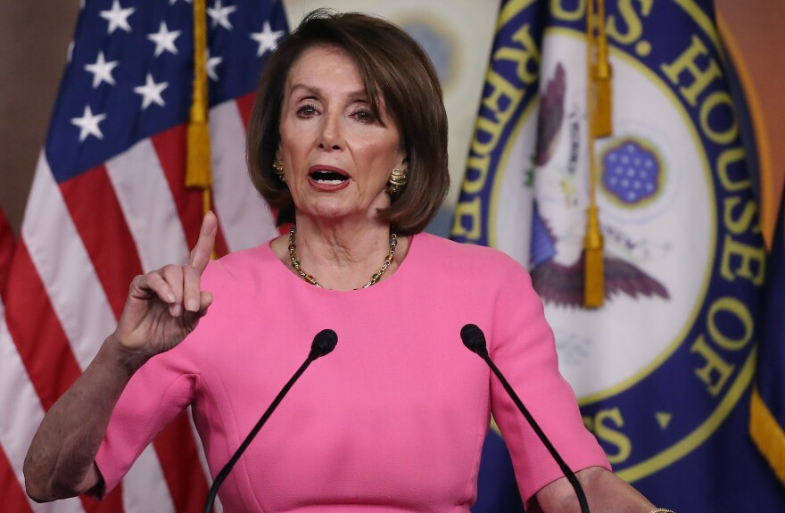 Speaker Nancy Pelosi, pictured during a May 23 press conference, and her lieutenants in the House are confronting politically difficult decisions about the aftermath of the Russia investigation.
