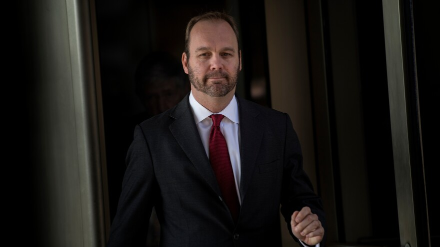 The defense team has accused former Manafort associate Rick Gates of embezzling money and said Gates is cooperating and lying to investigators to cover his tracks.