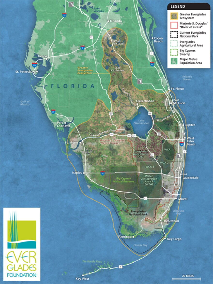 A $2.4 billion proposal to store water South of Lake Okeechobee is raising strong objections in the Panhandle.