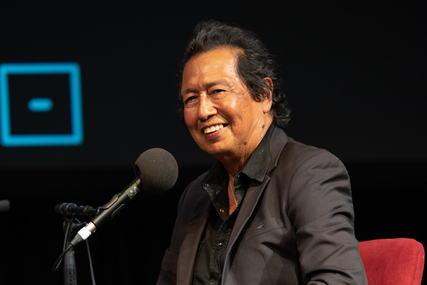 Alejandro Escovedo on <em>Ask Me Another</em> at the Majestic Theatre in Dallas, Texas.