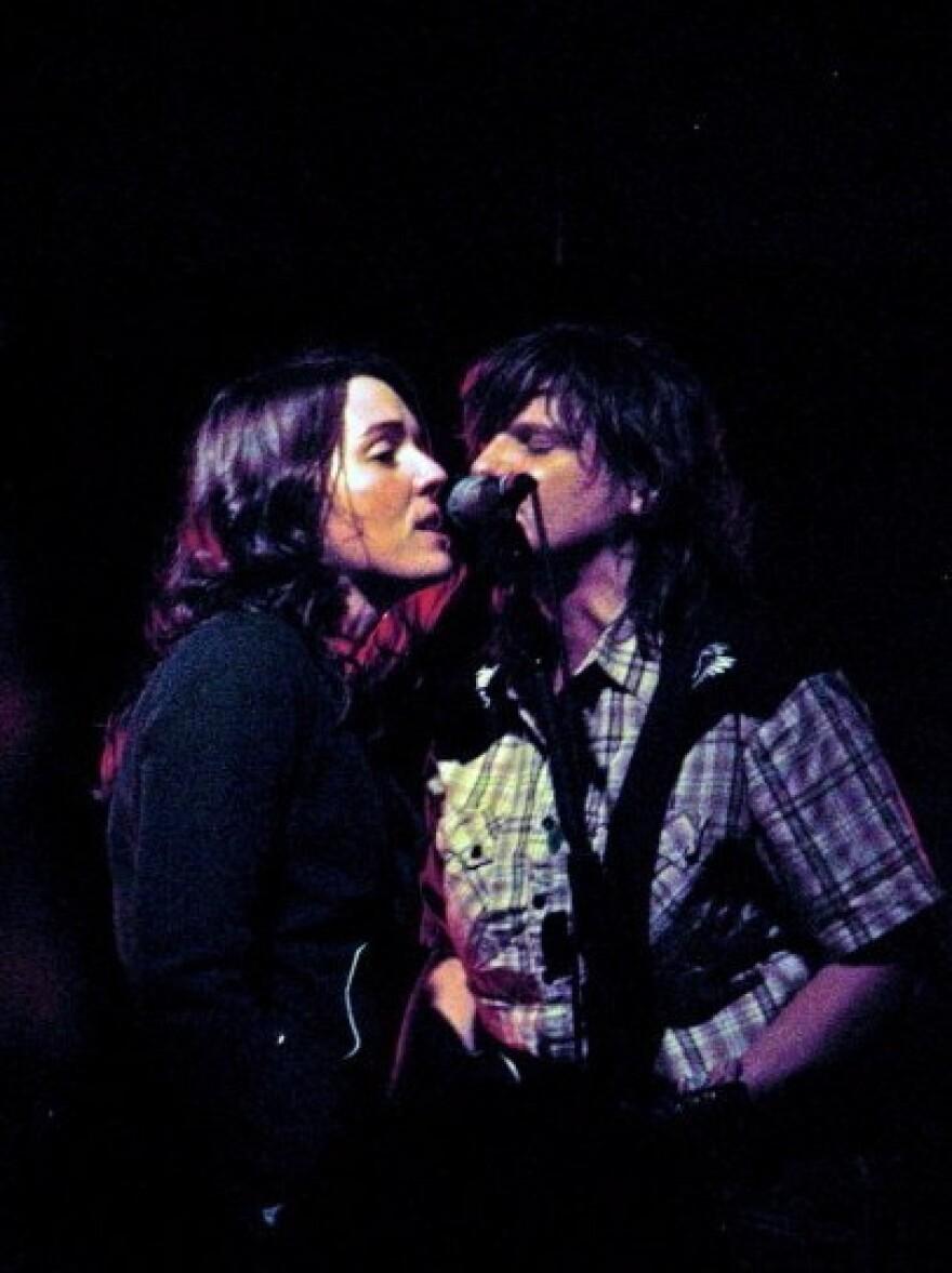 Amy Ray and Brandi Carlile in 2008
