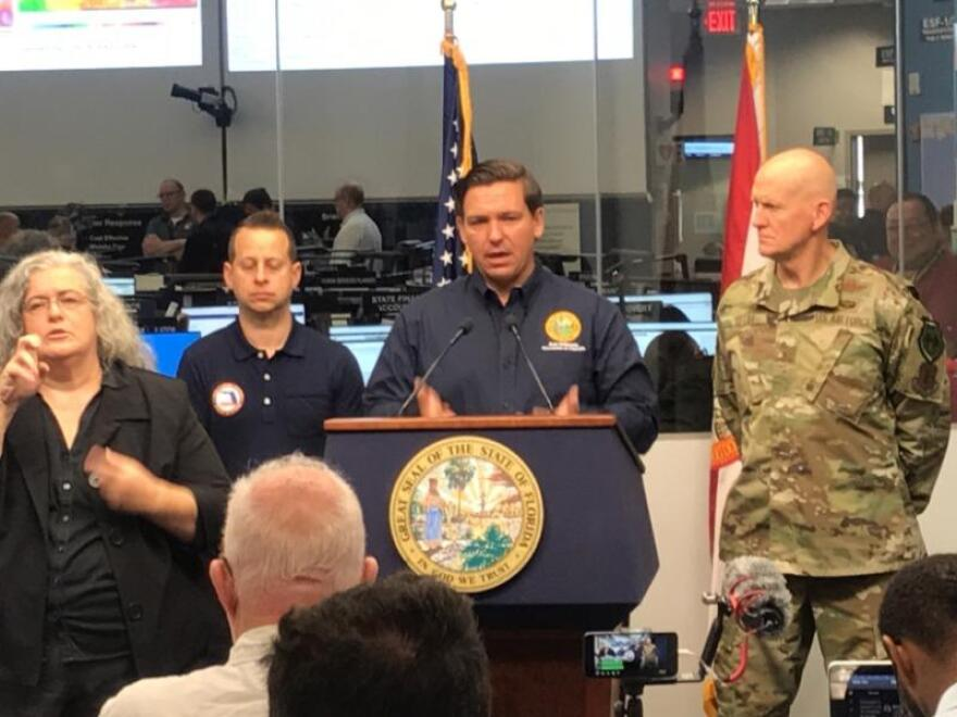 Local emergency departments across the state responding to Hurricane Dorian are seeing big changes under Gov. Ron DeSantis. NEWS SERVICE OF FLORIDA