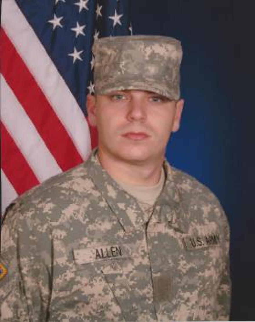 Army Specialist Robert Joseph Allen died by suicide Aug. 2, 2012. Because of the stigma, his mother has rarely spoken publicly about his death.