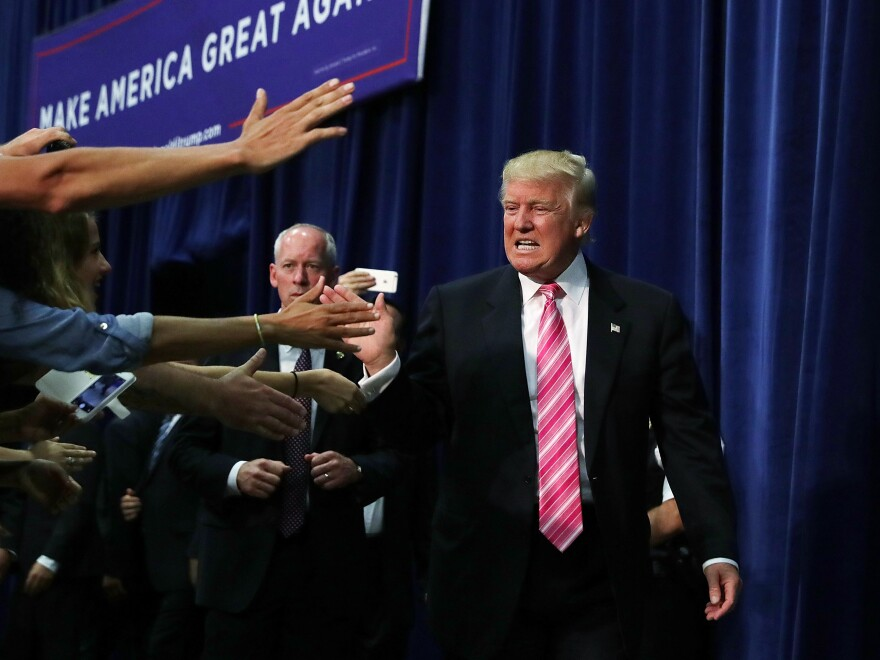 Donald Trump feeds off the energy his supporters bring to his rallies.