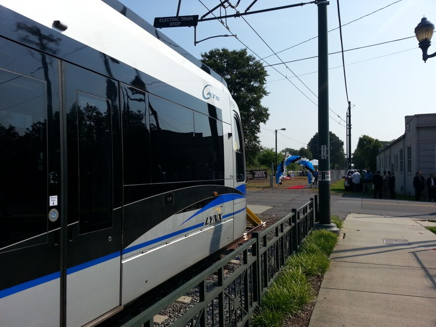CATS Blue Line train