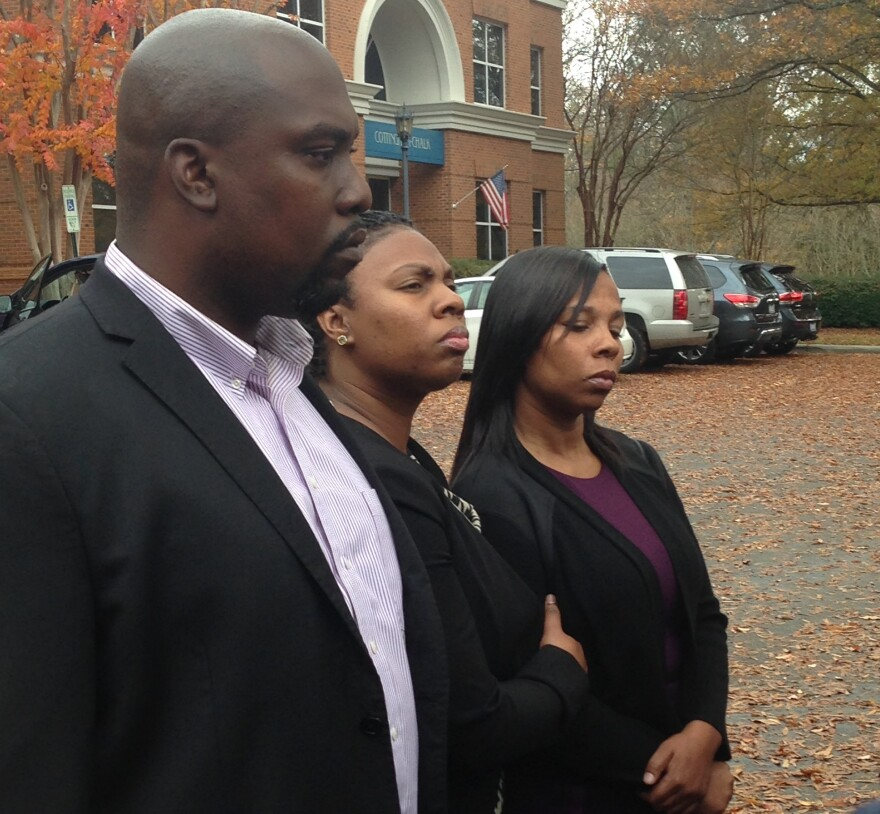 The family of Keith Lamont Scott.