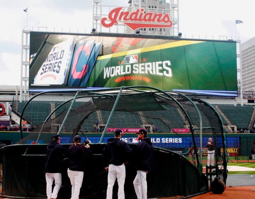 World Series at Progressive Field