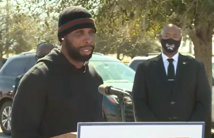 Pahokee native and former NFL star Anquan Boldin helped lead efforts to bring vaccines to the Glades area.