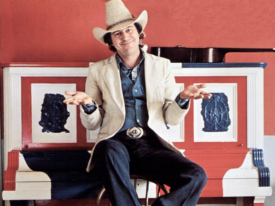 Jerry Jeff Walker, photographed in 1970.