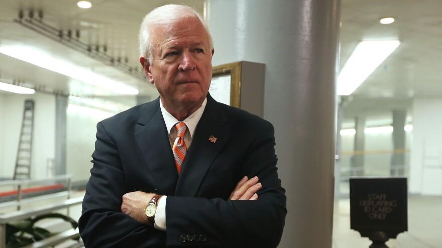 Sen. Saxby Chambliss, R-Ga., announced Friday that he won't seek a third term in 2014.