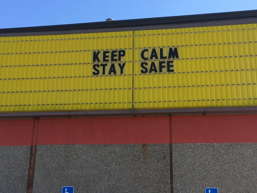 Sign At Checkers.JPG