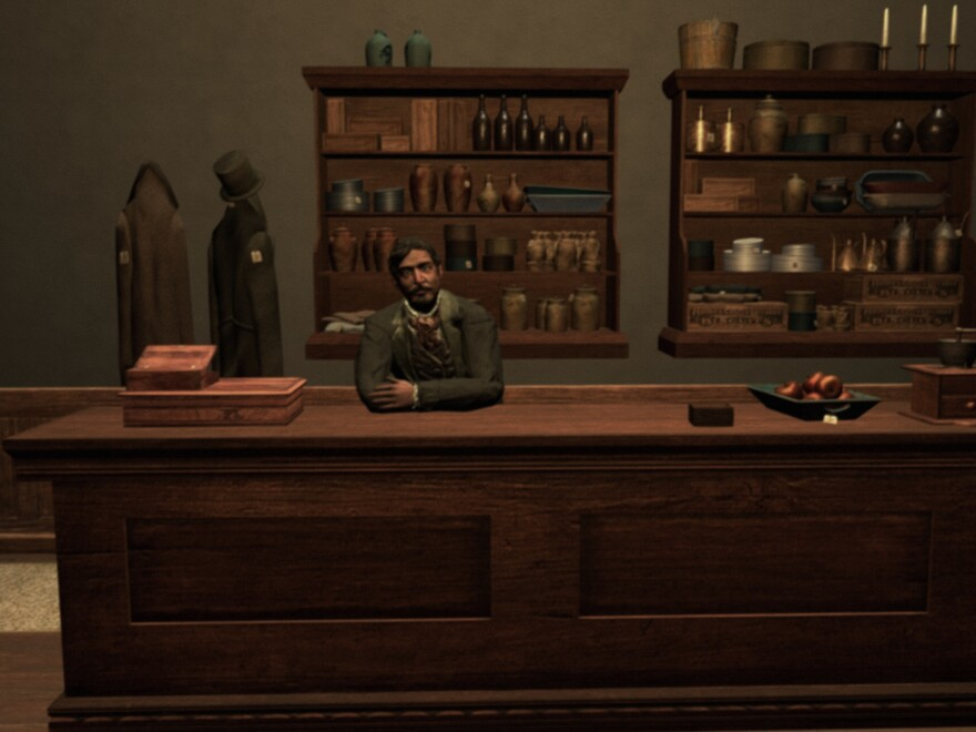 This is not <em>really</em> a survival simulator — if you're hungry, head to the general store for supplies. Or have dinner at Mom's.
