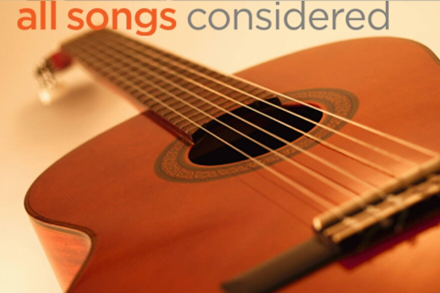 guitar with all songs considered logo