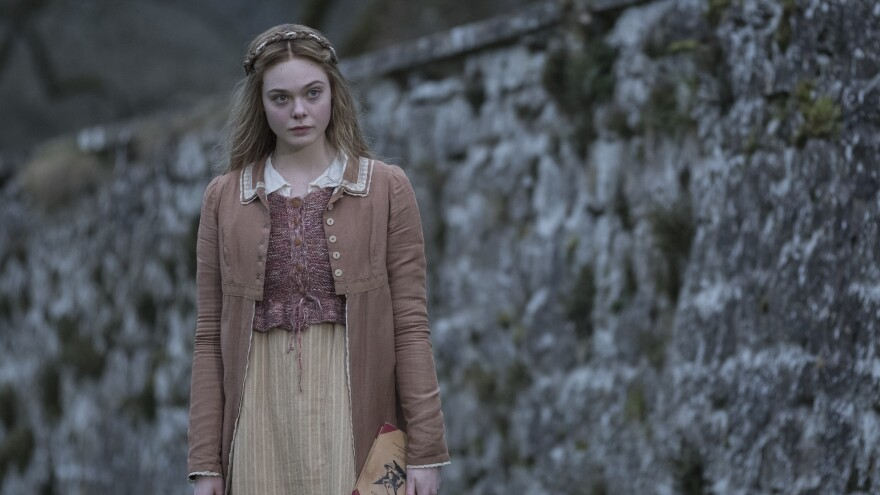 Elle Fanning plays Mary Wollstonecraft Shelley (<em>nee</em> Godwin), the author of <em>Frankenstein</em>, in<em> Mary Shelley.</em>