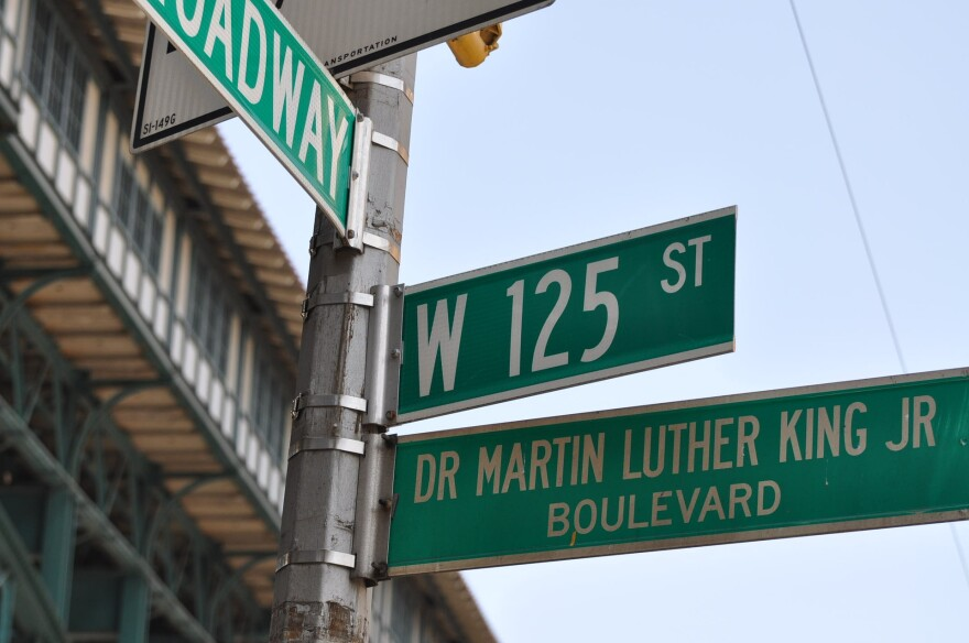 """Many roads in America are named after Dr. Martin Luther King, Jr, such as this road in New York City.  If a resoultion before the Jonesboro City Council passes, Johnson/Dan Aves. will be renamed """"Dr. Martin Luther King Jr. Ave."""""""