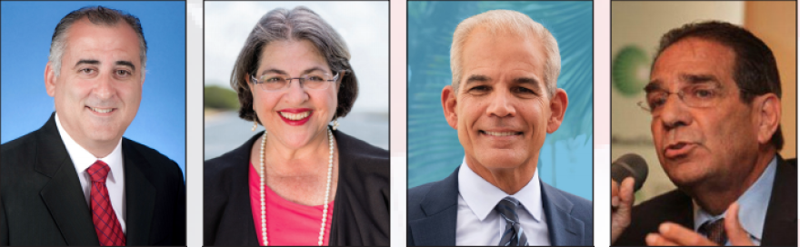 Four Miami-Dade mayoral candidates