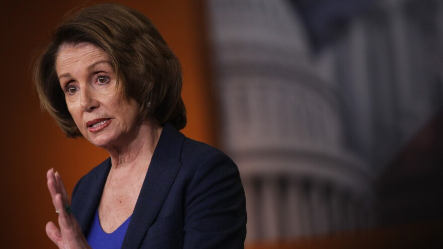 """A speaker is the speaker of the House ... he cannot give his gavel to a small percentage of his party,"" House Minority Leader Nancy Pelosi, D-Calif. told NPR."