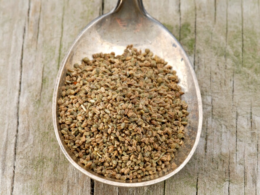 These celery seeds look safe, but could be tainted. Even if they're organic.