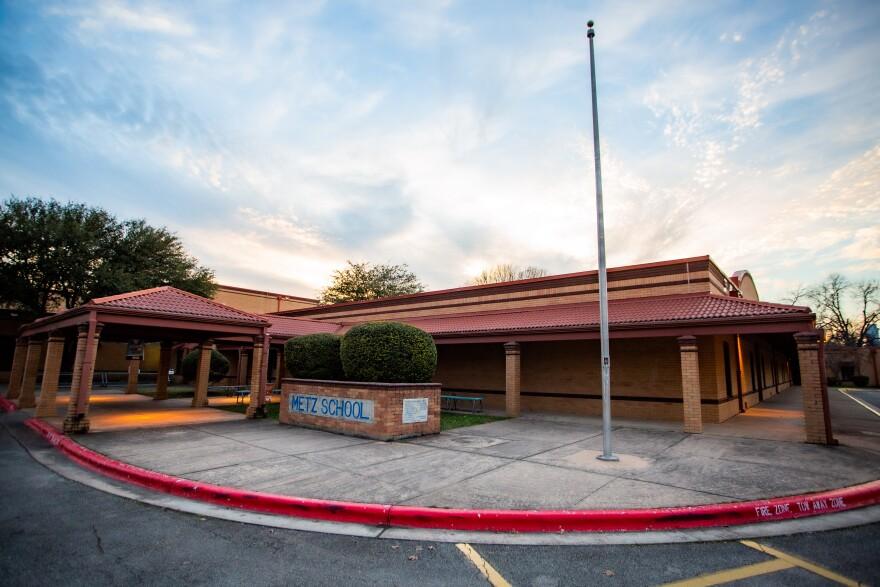 La escuela elementaria Metz