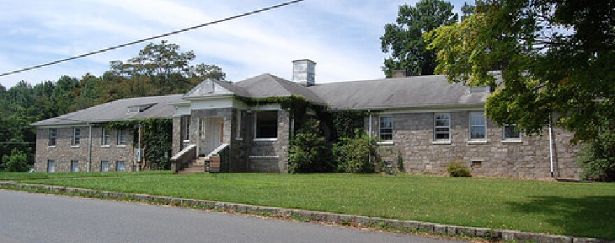 An image of the old Ashe County Memorial Hospital