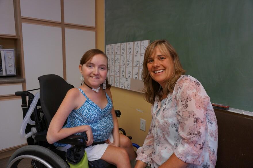 Mallory Holler and Dawn Greenwalt