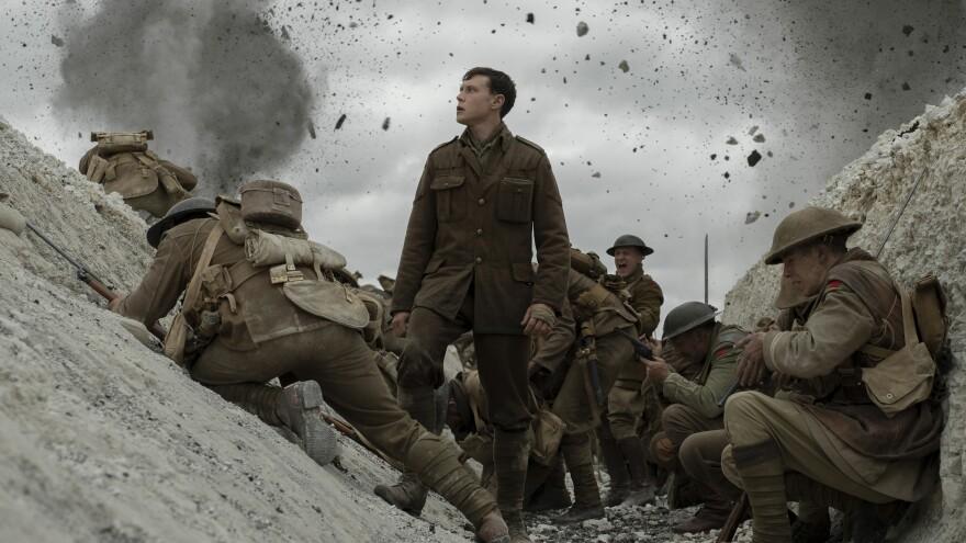 Schofield (George MacKay) gets entrenched in Sam Mendes' <em>1917</em>.