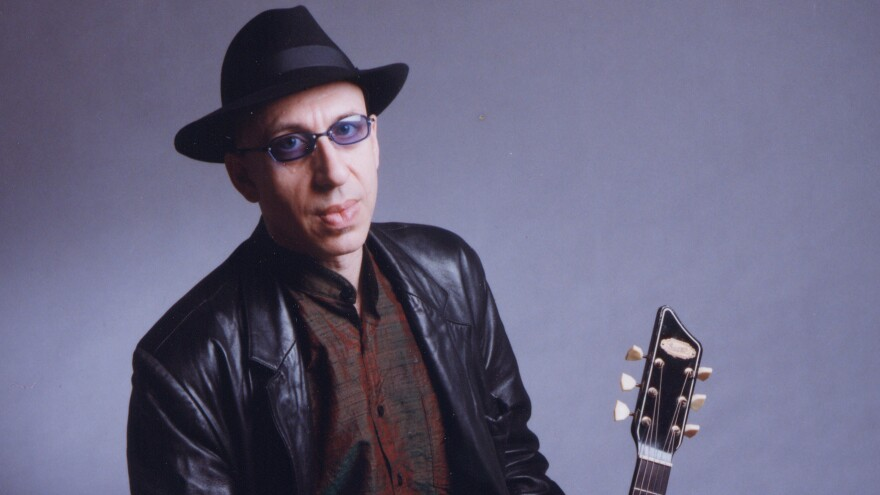 """""""Blues is a feeling, and it exists cross-culturally. It always has existed, and it always will. It's part of being human,"""" says musician Elliott Sharp."""