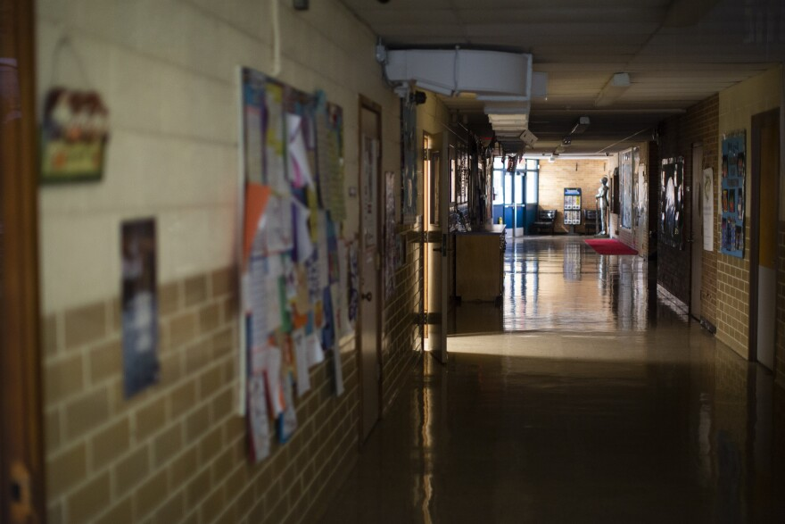 Dawson Elementary School, along with other schools in Austin ISD, closed in March because of the coronavirus pandemic.