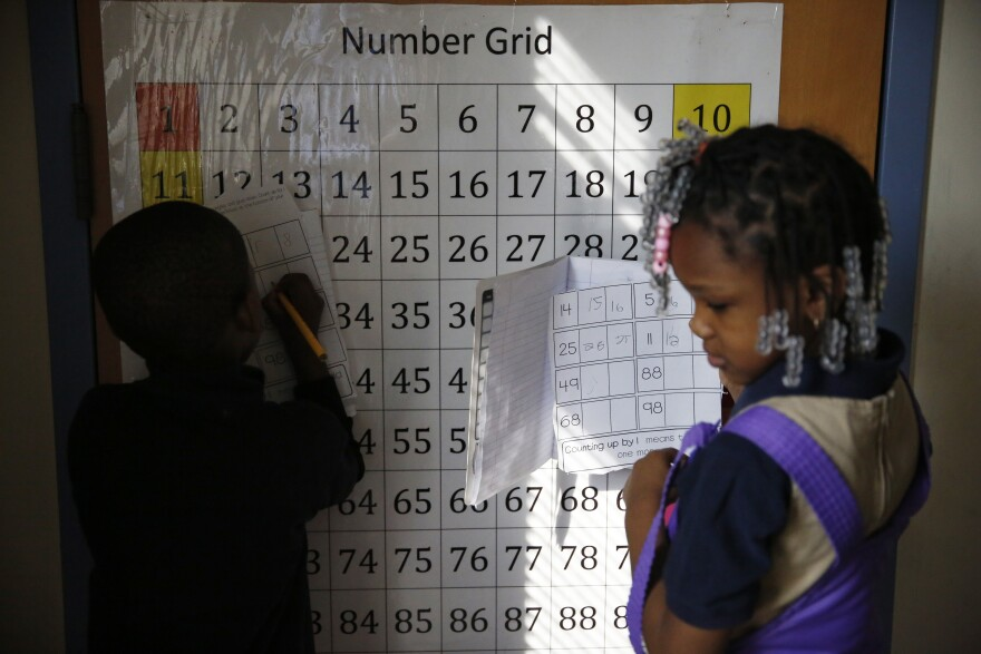 Working on number grids