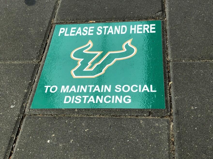 Social Distance Line Marker