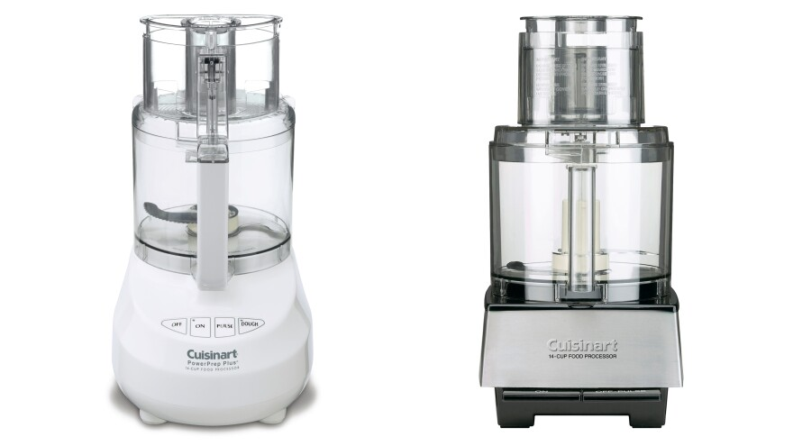 Cuisinart has recalled about 8 million food processors because their riveted blades can crack, causing pieces of metal to break off into processed food.