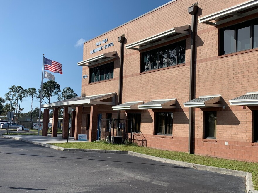 Palm View Elementary is one of the Manatee County Schools working to reopen next month