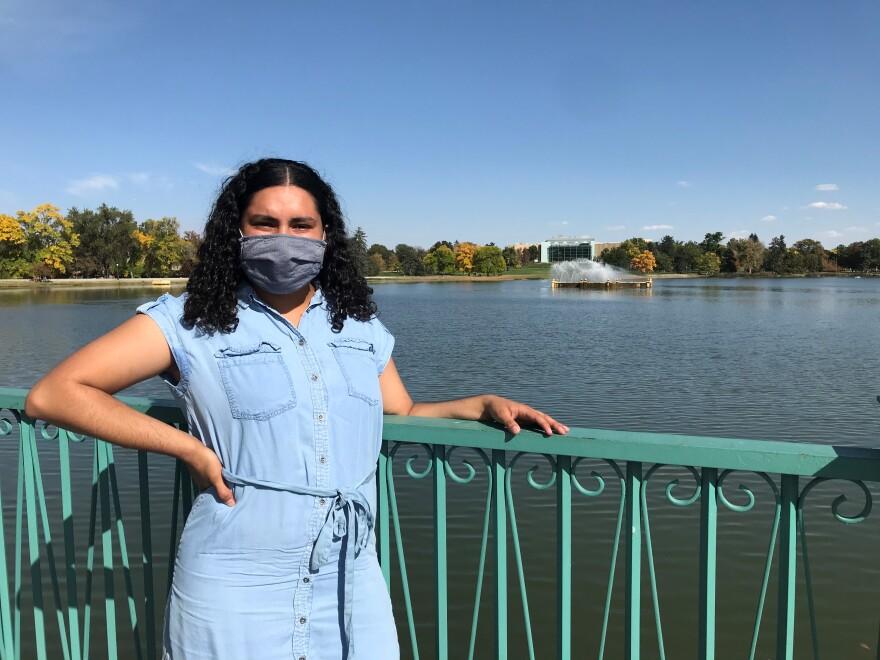 MSU Denver student Mayra Valdez IGNITE
