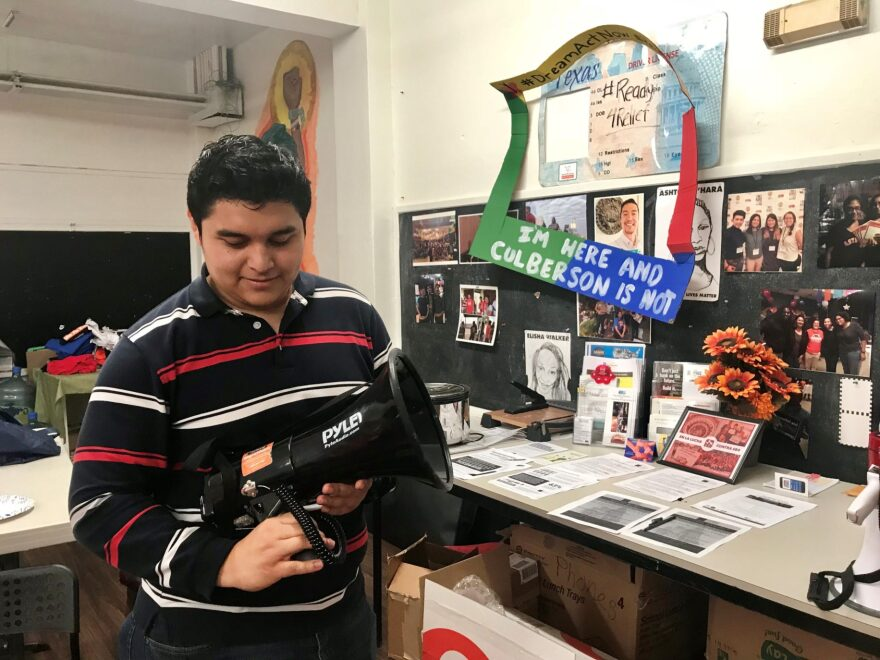 Franklin Henriquez was able to graduate with a degree in political science thanks to the DACA program.