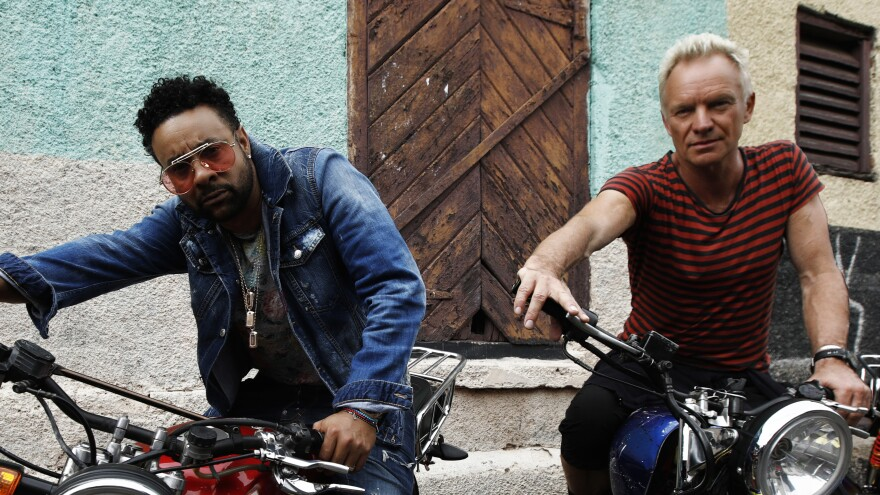 """""""I think surprise is always the most important element in all music,"""" Sting says of his and Shaggy's new album <em>44/876</em>."""