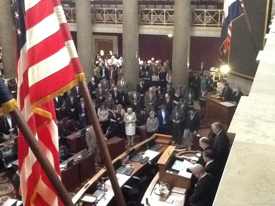 A memorial service for Tom Schweich was held in the Missouri House Thursday afternoon (2/26/15)