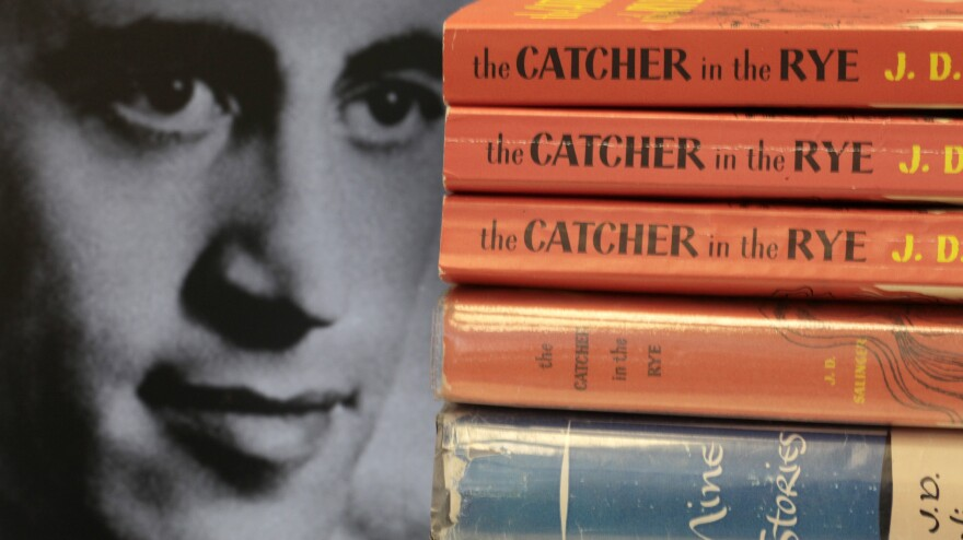 """J.D. Salinger was overwhelmed by fame, and after <em>Catcher in the Rye</em> was published, he made like Holden Caulfield and """"beat a fast exit out of New York City,"""" says the co-author of a new Salinger biography."""