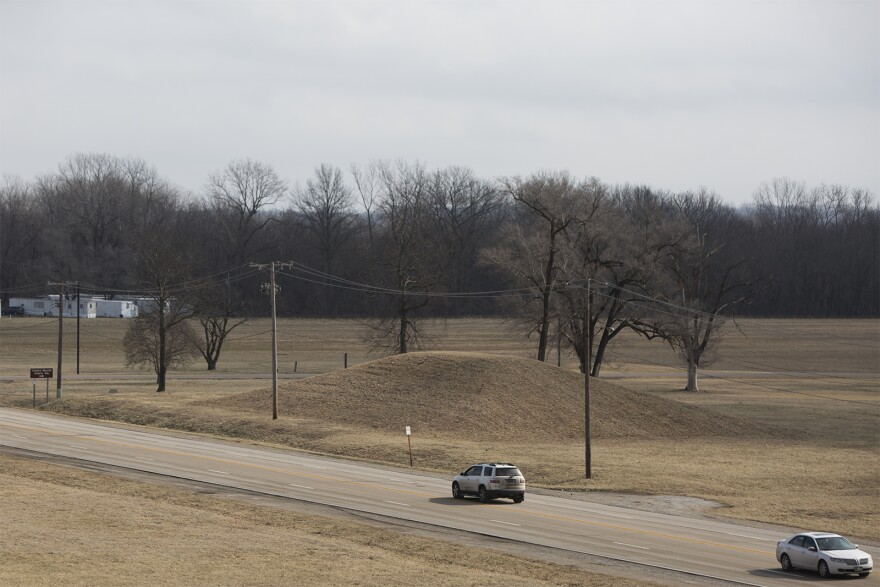The park contains about 80 mounds, some of which can be seen from the top of Monks Mound.