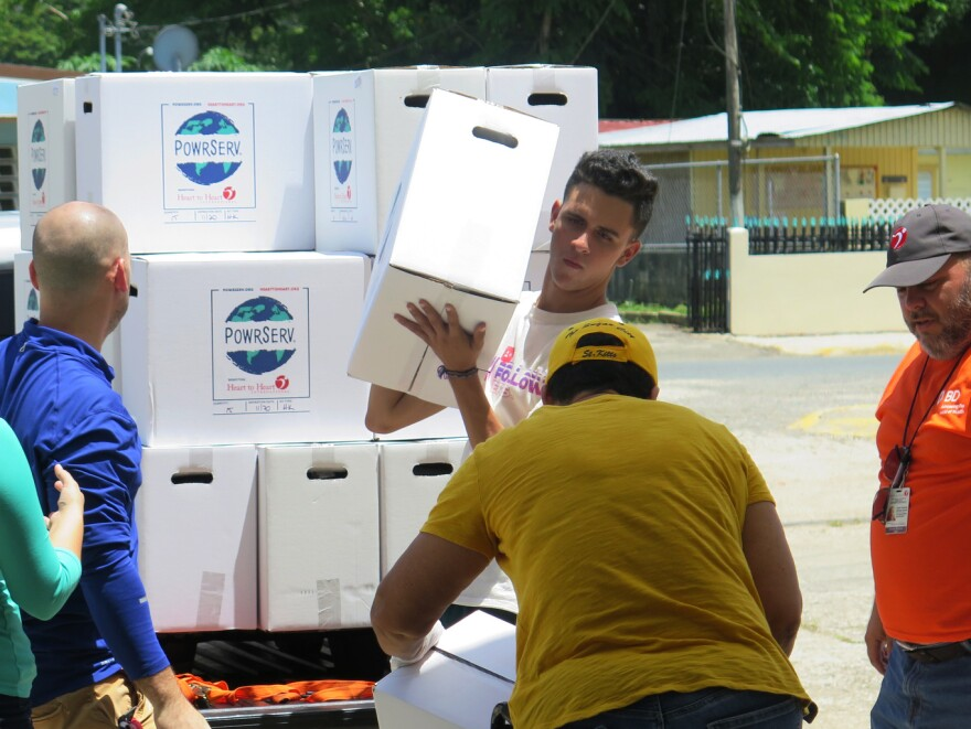 Foundations and charities are helping individuals, communities and businesses install solar panels and battery systems in Puerto Rico, with dual goals: to move the island toward renewable energy and allow small towns to be less dependent on the energy grid in case of another disaster.