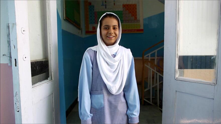 Somaya Rahmanzai is 15, geeky and <em>crazy</em> confident. Her career of choice: brain surgeon.