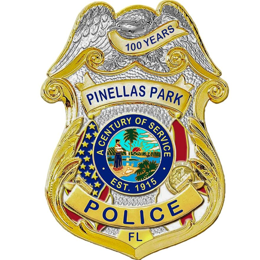 Logo for the Pinellas Park Police Department
