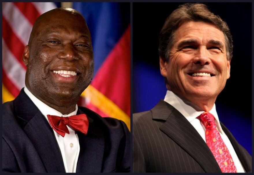 Michael Williams and Rick Perry.jpg