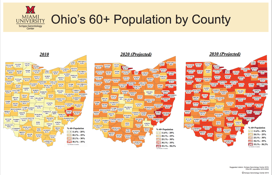 Scripps Ohio map